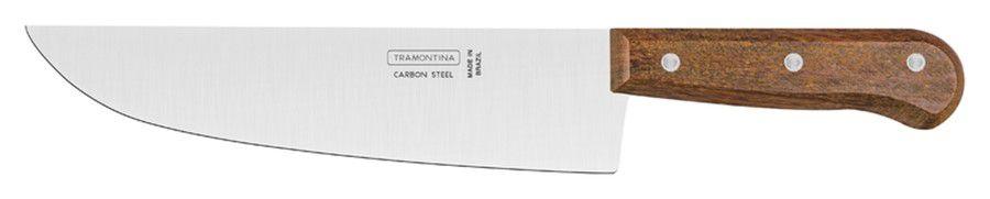 """Faca para Carne/ Cozinha Tramontina Carbono 9"""" 22952/009"""