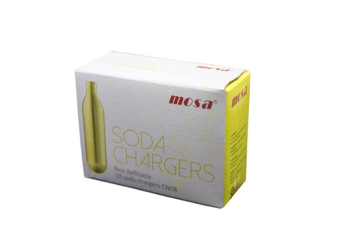 CAPSULAS DE GAS PARA SODA BEST WHIP CO2
