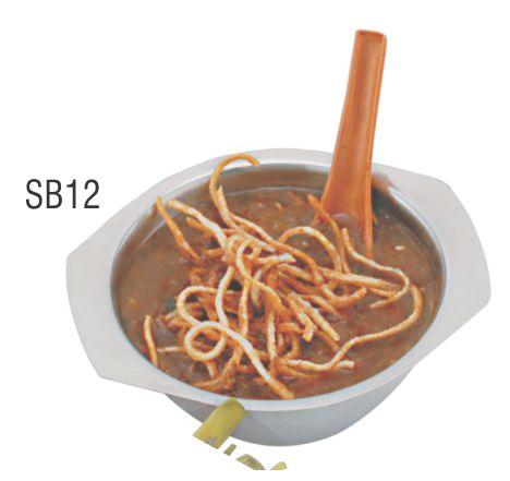 TIGELA P/SOPA 12CM - 355ML C/2 ABAS SB12