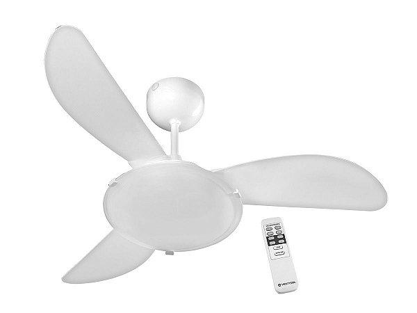 Ventilador de Teto Ventisol Sunny Branco - 127V com controle