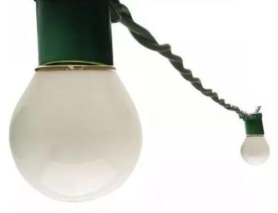 Cordão Luzes Varal Festao Iluminaçao Festas Natal 5M Verde