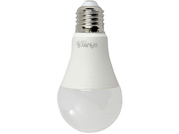 Lampada LED Bulbo A60 E27 9W 6500K Bivolt Galaxy