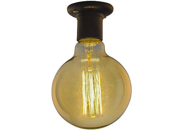 Lampada Retro decorativa filamento Carbono G95 40W 110V E27