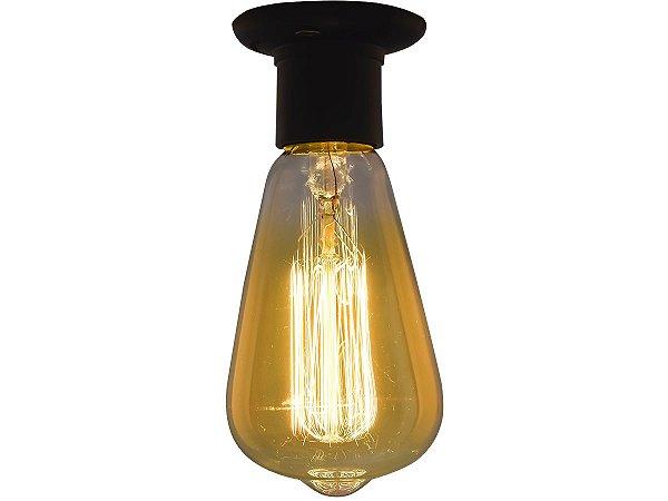 Lampada Retro decorativa filamento Carbono ST64 40W 110V E27