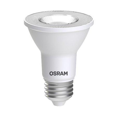 Lâmpada LED PAR20 OSRAM Dimerizável 7W 525 lúmens (substitui 50W) - Luz amarela 3000K - 127V - Base E27 - 7013837