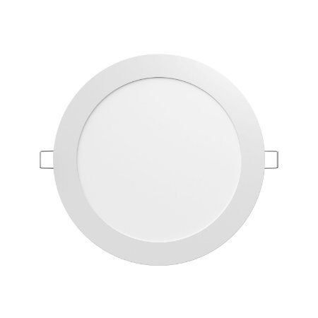 Luminária LED painel de embutir LEDVANCE 24W 2200 lúmens luz branca 6500K bivolt ultra fina driver externo redonda - 7014201