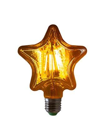 Lâmpada de Filamento LED Star Squirrel Cage 4W Bivolt LG125LOVE-4W
