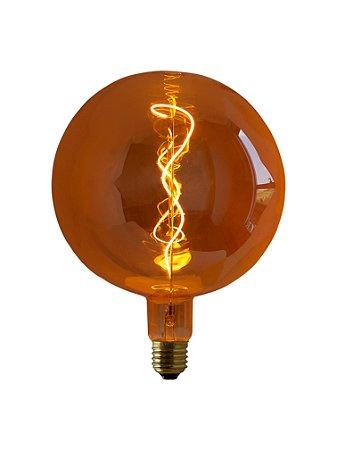Lâmpada de Filamento de LED G200 Super Size Soft 4W Bivolt LLHI-5,4W-2700K-B