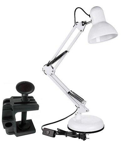 Luminária Desk Lamp - Branco DL-P
