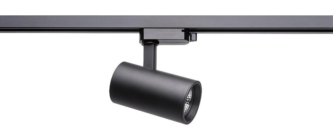 Spot Zylinder MR16 GU10 - Preto REF: SD1710PTO