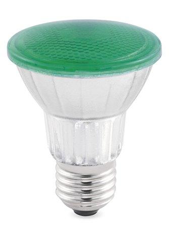 PAR38 Color Vidro Verde 18w Biv REF: STH6093/VD