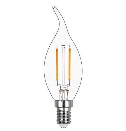 Vela Chama Filamento Vidro Translúcido 2w 2400k 220v REF: STH6312/24