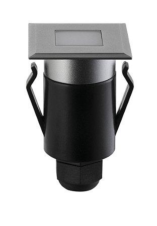 Balizador de Solo Spur Quadrado Efeito 2w 3000k Biv REF: STH7709/30