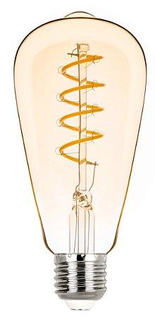 ST64 Filamento Vintage Espiral 2,5w 2400k Biv REF: STH8242/24