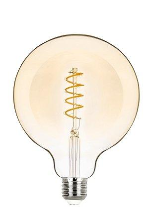 G125 Balloon Filamento Vintage Espiral 2,5w 2400k Biv REF: STH8246/24