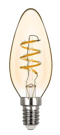 Vela Lisa Filamento Vintage Espiral 2,5w 2400 127v REF: STH8381/24