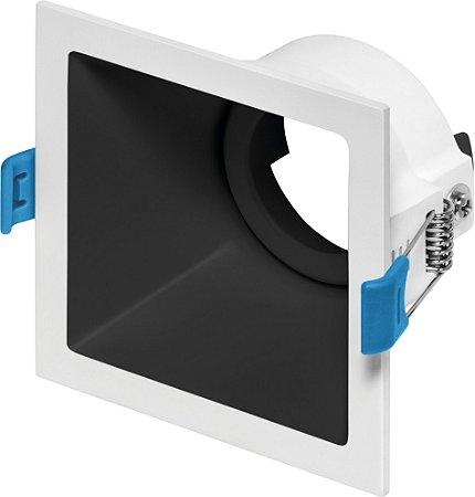 Embutido Direcionável Square MR16 Biv REF: STH8915BR/PTO