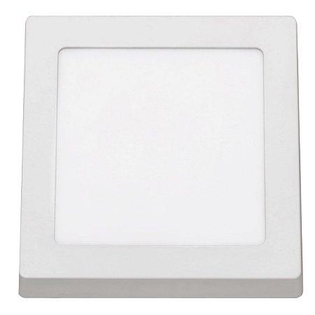 Painel Sobrepor LED Quadrado 12w 4000k Biv REF: STH8962Q/40