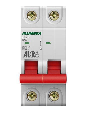 DISJUNTOR BIPOLAR ALBR3 C10/2 REF: 39341