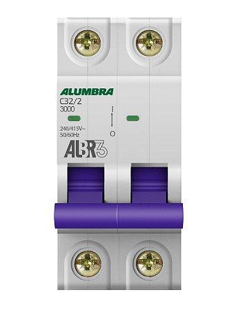 DISJUNTOR BIPOLAR ALBR3 C32/2 REF: 39345
