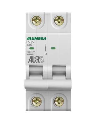 DISJUNTOR BIPOLAR ALBR3 C50/2 REF: 39347