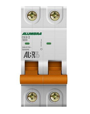 DISJUNTOR BIPOLAR ALBR3 C63/2 REF: 39348