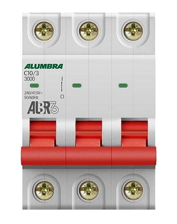 DISJUNTOR TRIPOLAR ALBR3 C10/3 REF: 39441