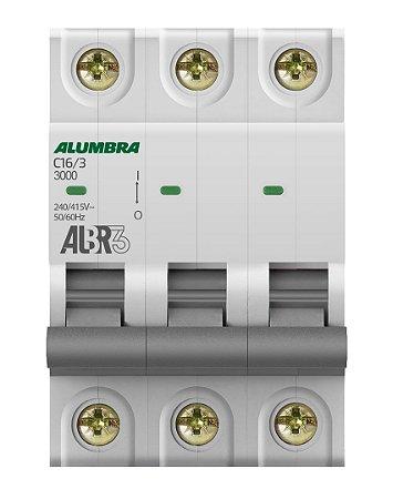 DISJUNTOR TRIPOLAR ALBR3 C16/3 REF: 39442