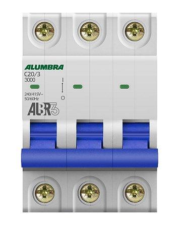 DISJUNTOR TRIPOLAR ALBR3 C20/3 REF: 39443