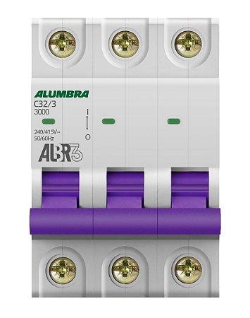 DISJUNTOR TRIPOLAR ALBR3 C32/3 REF: 39445