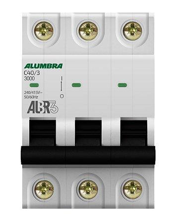 DISJUNTOR TRIPOLAR ALBR3 C40/3 REF: 39446