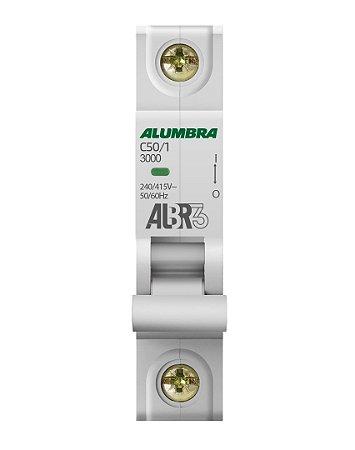 DISJUNTOR UNIPOLAR ALBR3 C50/1 REF: 39247