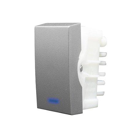Interruptor PARALELO LUZ 10A 250V INOVPRÓ CLASS TITANIUM REF: 85563