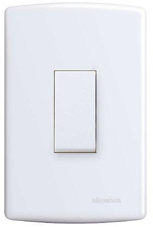Interruptor SIMPLES 10A 250V VERT PL4x2 BR SI REF: 6515