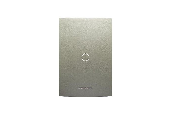 Placa  4X2 CEGA/SAÍDA DE FIO C/ SUP, INOV,PR CL,CH REF: 85429