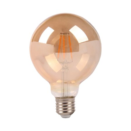 LAMP GOLD GLASS FILAM G95  4W 2200K  E27 BIV