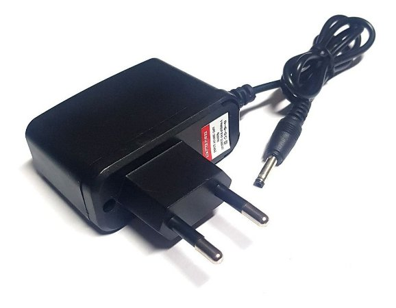 Carregador Para Lanternas T9 Original Bivolt 8,4v Plug fino
