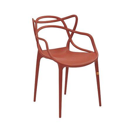 Cadeira Allegra Laranja Telha