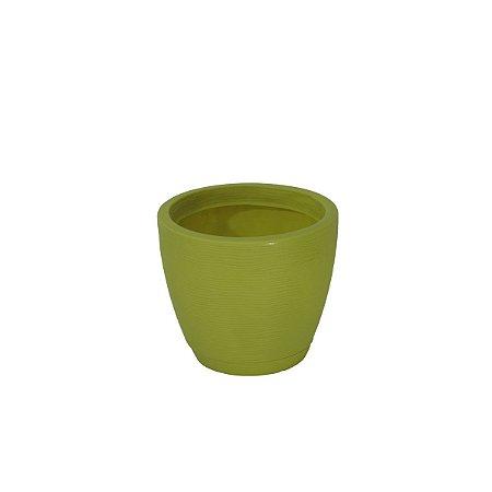 Vaso Com Prato Tramontina Asteca 24 Cm Em Polietileno