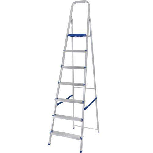 Escada de Alumínio - 7 Degraus