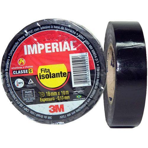 Fita Isolante 3M Imperial Classe C - Escolha o Tamanho