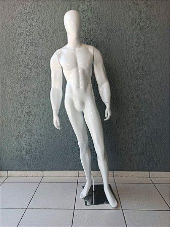 Manequim Masculino de Fibra Forte