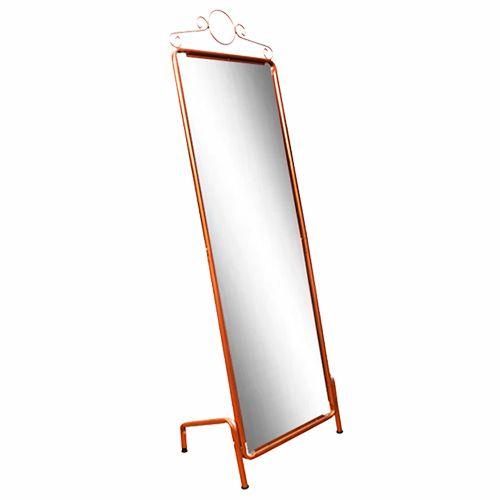 Espelho de Chão Retrô Rose