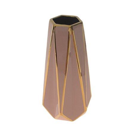 Vaso Decorativo De Cerâmica Decorglass Pequeno