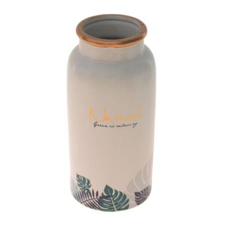 Vaso De Cerâmica Decorativo Decorglass Diversas Cores