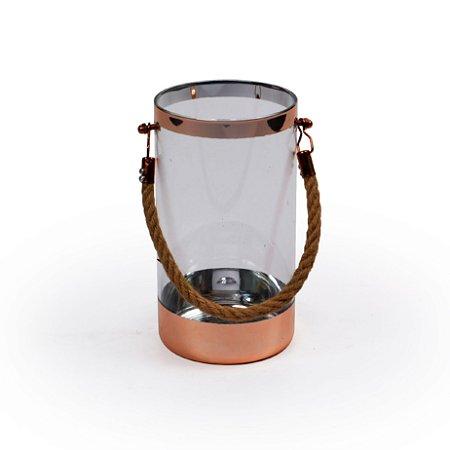 Vaso De Vidro Prata Decor Glass Diversas Cores