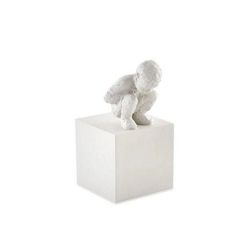 12793 - Escultura Em Pessoa Poliresina