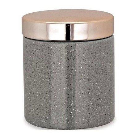 09073 - Pote Cinza em Cerâmica