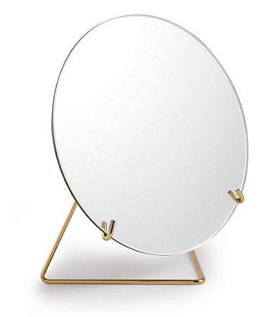 11443 - Espelho com Suporte em Metal