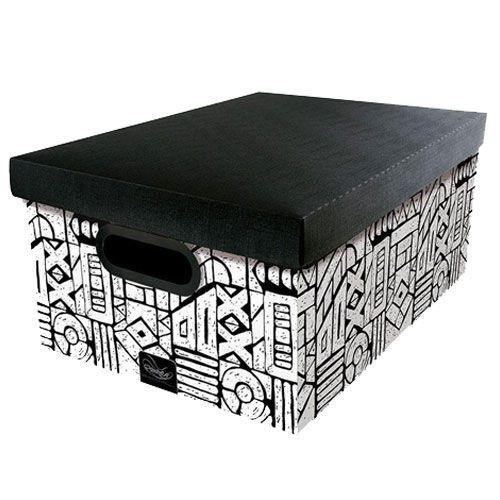 Caixa Organizadora Tribal Dello 38x29x18,5 cm